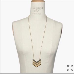 Madewell arrow stick necklace brand new, no tags